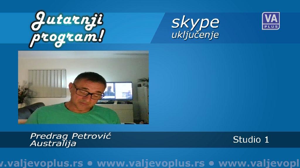 Jutarnji program - Predrag Petrović - 7. april 2020.