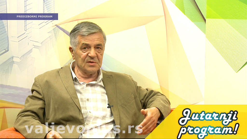 Jutarnji program - Veran Panić - 16. jun 2020.