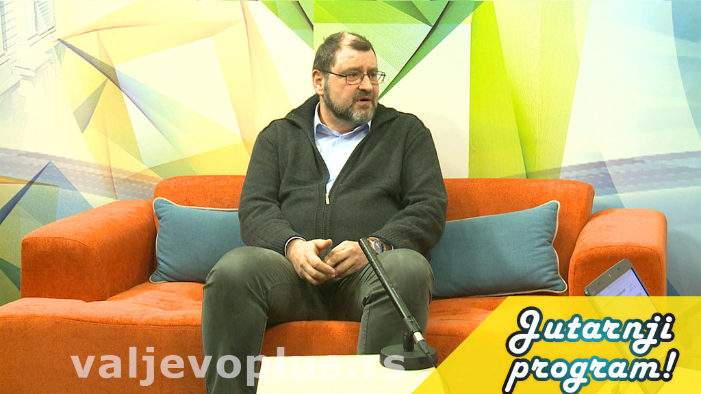 Jutarnji program - Vladimir Krivošejev - 19. februar 2021.