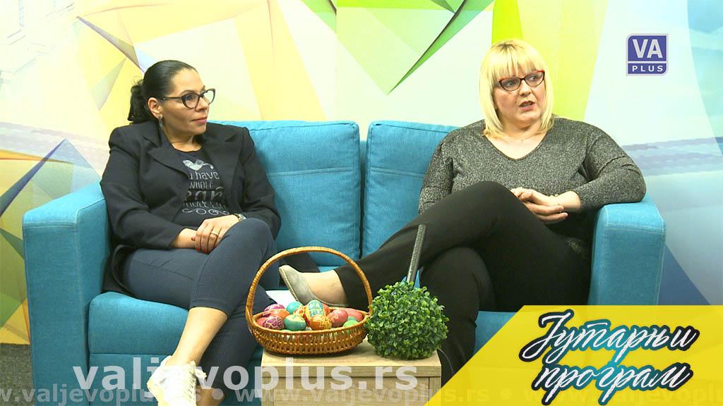Jutarnji program - Verica Živanović i Ana Đorđević - 5. maj 2021.
