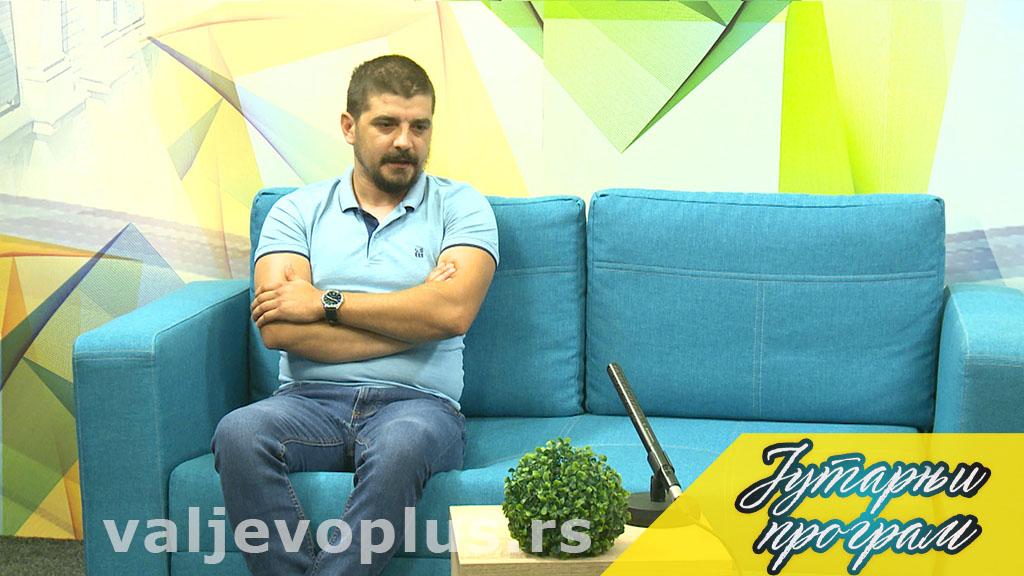 Jutarnji program - Uroš Milinković - 25. maj 2021.